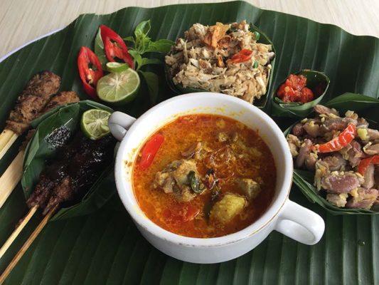 Kuliner Khas Bali Lawar Kambing Super Lezat Samani Resto
